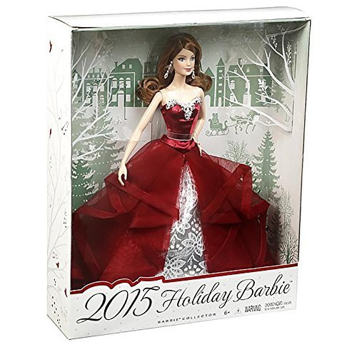Barbie-Collector-2015-Holiday-Doll-Auburn-by-Mattel