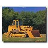 Caterpillar Cat 973 Track Truck Loader Home Decor Wall Picture 16x20 Art Print