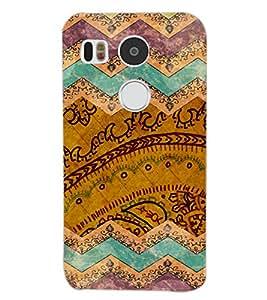 PrintDhaba MULTICOLOR DESIGN D-6929 Back Case Cover for LG NEXUS 5X (Multi-Coloured)