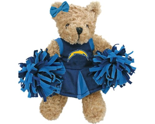 NFL San Diego Chargers Cheerleader Bear at Amazon.com