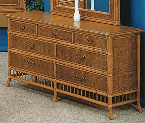 Calypso 7 Drawer Dresser