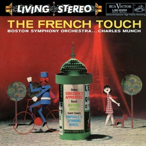 Vinilo : CHARLES MUNCH & BOSTON SYMPHONY ORCHESTRA - French Touch (LP Vinyl)