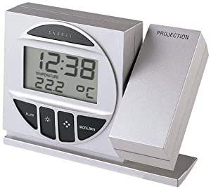 Technoline Wt 590 - Despertador con Proyector, color plateado Y negro  Jardín Comentarios de clientes y más información