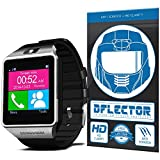 DFlectorshield Premium Scratch Resistant Screen Protector for the Veezy Gear Bluetooth Smart Watch