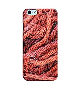 Omnam Rope Effect Printed Designer Back Cover Case For Apple iPhone 6