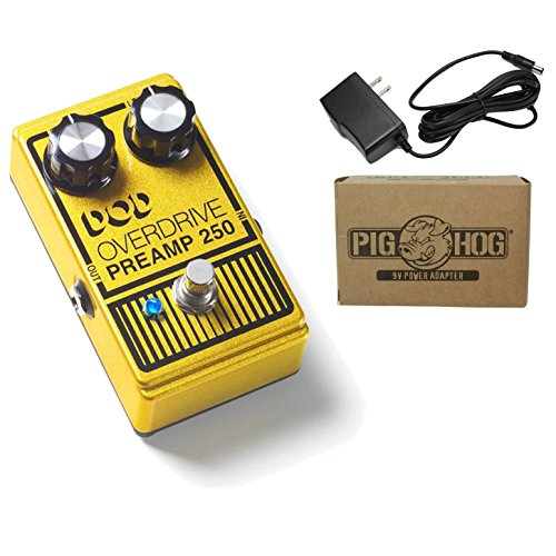 DOD Overdrive Preamp 250 Power Bundle w/ 1 free Items: Item: Pig Hog 9v Power Adapter