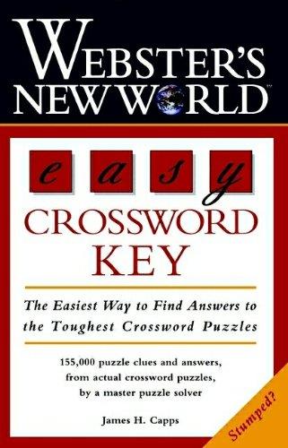 Webster's New World Easy Crossword Key