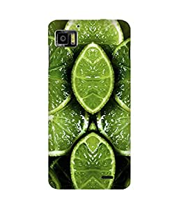 Green Lime Printed Back Cover Case For Lenovo K860