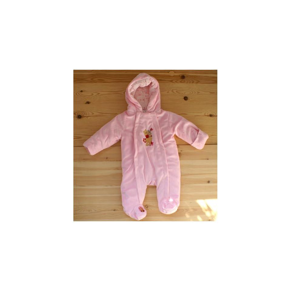Baby Plüsch Overall Wagenanzug Winnie Pooh Rosa 74 Bekleidung