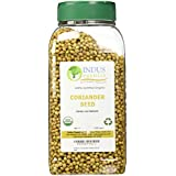 Indus Organic Indian Coriander Seeds Spice, Jar, Freshly Packed