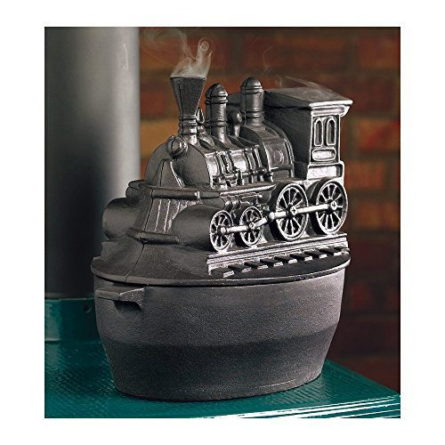 Train Woodstove Steamer, in Black (Train Cast Iron Steamer compare prices)