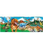 Melissa and Doug Giant 4 Foot Long Dinosaur Floor Puzzle, 48 Pieces