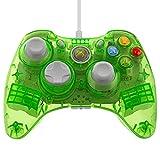 Control PDP Rock Candy para Xbox 360 de cable, color verde limón.