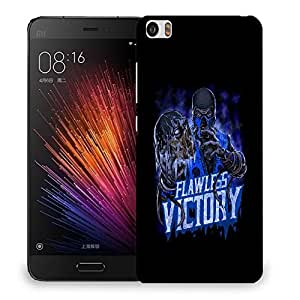 Snoogg Flawless Victory Designer Protective Back Case Cover For SONY XPERIA M5