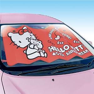 セイワ(SEIWA) 車用 サンシェード ハローキティ フロントサンシェード 40th記念 KT460