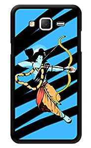 """Humor Gang Ram Abstract Art Hindu God Printed Designer Mobile Back Cover For """"Samsung Galaxy On7"""" (3D, Glossy, Premium Quality Snap On Case)"""