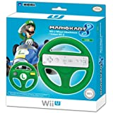 HORI Mario Kart 8 Racing Wheel (Luigi) for Wii U