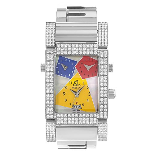 jacob-co-capri-jco-57ss-factory-set-con-quarzo-orologio-unisex
