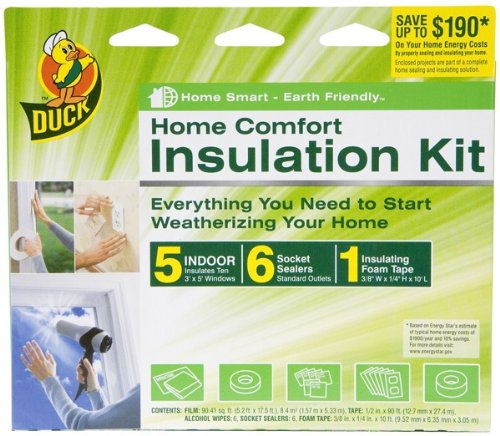 Duck 1162920 Complete Home Insulation Kit