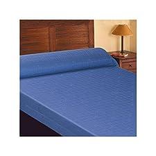 SABANALIA - Colcha de Loneta Eva (Disponible en varios tamaños) - Cama 105, Azul