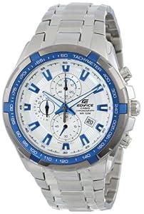 Casio EF539D-7A2 - Reloj de pulsera hombre, acero inoxidable, color plateado