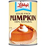 Pumpkin Pie Filling, Libbys, 100% Natural, 425g