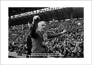 Bill Shankly Liverpool Fc Classic Quote Photo Memorabilia