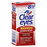 Clear Eyes Eye Drops, Maximum Redness Relief, .5 oz.