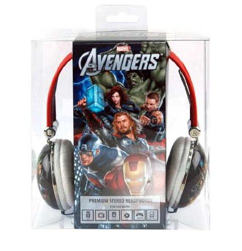 Marvel'S The Avengers Movie Series Aviator Stereo Over Ear Headphones - Retail Packaging,Mvl-820-Amg3