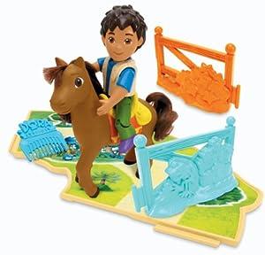 Mattel k3656 figurine dora poney de dora diego jeux et jouets - Jeux de go diego ...
