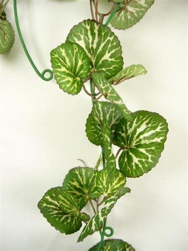 Artificial Silk Strawberry Geranium Leaf Garland