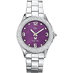 GO, Girl Only Glamour Analogue Purple Dial Womens Watch - 694523