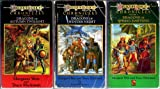 img - for DragonLance Chronicles, four-volume set: Dragons of Autumn Twilight + Dragons of Winter Night + Dragons of Spring Dawning + Dragons of Summer Flame book / textbook / text book