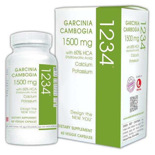 Bioscience créatif le Garcinia Cambogia 1234, 60