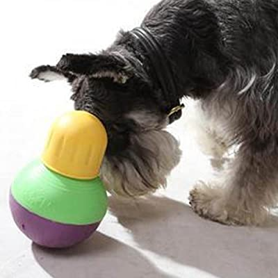 Treat Dispensing Bob-A-Lot Dog Toy