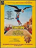 Tintin Et Le Temple Du Soleil reproduction photo affiche du film 40 x 30 cm...