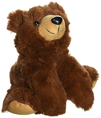 "Purr-Fection Drake Junior Snuggle Ups Brown Bear 8"" Plush"