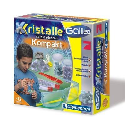 Imagen principal de Clementoni 69864  - Galileo - Juego de piedras cristalizadas para observar y coleccionar [importado de Alemania]