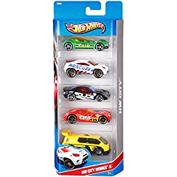 Hot Wheels 5 Car Gift Pack (Styles May Vary)