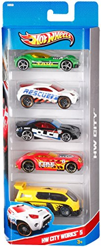 Hot Wheels 1806 - Pack De 5 Vehiculos (Mattel)- surtido: modelos/colores aleatorios