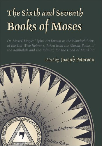 Buy The Sixth and Seventh Books of Moses089254158X Filter