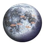 3D球体パズル 60ピース 月球儀ーTHE MOON- 2003-362