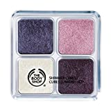 The Body Shop Shimmer Cubes Eye Shadow Palette #23 Bunch of Violets