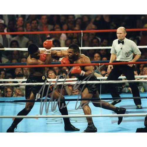 Mike Tyson 8x10 Autographed Photograph | Details: Punching【並行輸入】