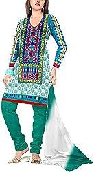 RedHot Fashion Women's Cotton Unstitched Salwar Suit Dress Material (RHJS1007)