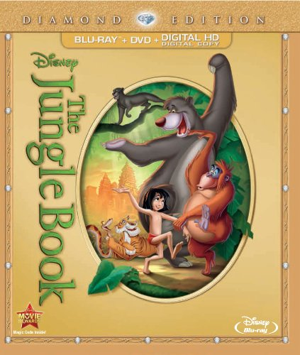 The Jungle Book (Two-Disc Diamond Edition: Blu-Ray / Dvd + Digital Copy)