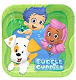 Bubble Guppies Dessert Plates 8 Ct 7 In