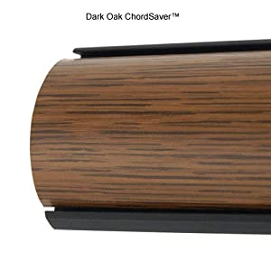 chordsavers chordsaver floor cord covers dark oak. Black Bedroom Furniture Sets. Home Design Ideas