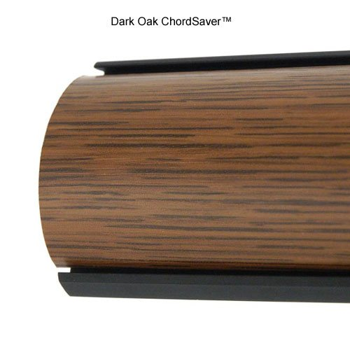 chordsavers chordsaver floor cord covers dark oak electronics electronics accessories cable. Black Bedroom Furniture Sets. Home Design Ideas