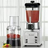 Cuisinart BC-6SA Smooth Operator Duet 56-Ounce Blender and Food Processor, Black/Chrome
